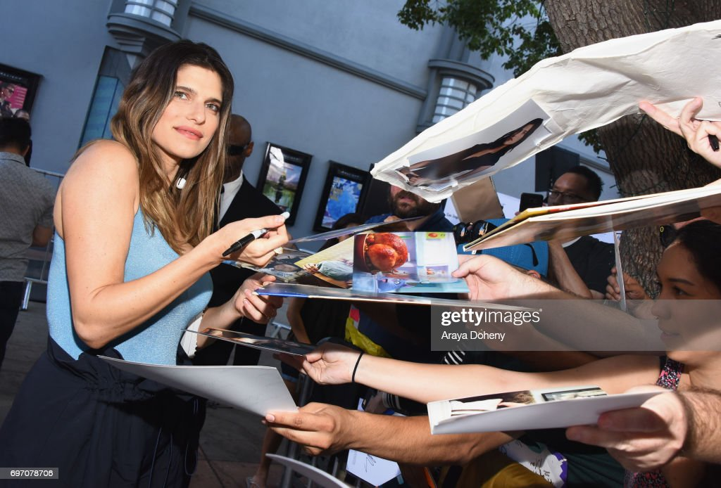 Lake Bell attends the 'Shot Caller' Premiere during the 2017 Los Angeles Film Festival at Arclight Cinemas Culver City on June 17, 2017 in Culver City, California.