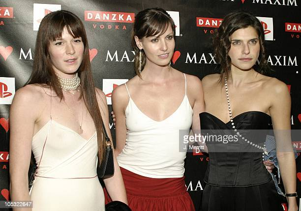 Lake Bell during Maxim Magazine Valentines Day Love Party Arrivals at Papaz in Hollywood California United States