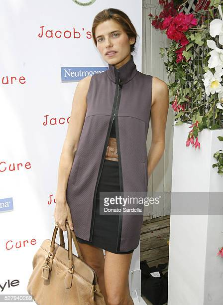 Lake Bell during The Launch of Jacob's Cure Smiley Bag by Babydish at Private Residence in Los Angeles California United States