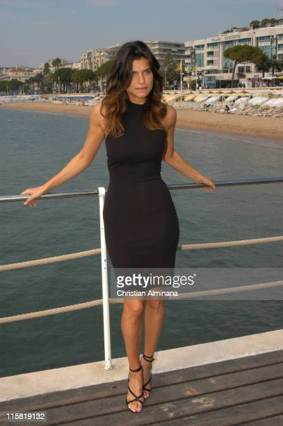 Lake Bell from Boston Legal during 2004 MIPCOM 'The Girls of Fox' Photocall at Cartlon Intercontinental Hotel in Cannes France