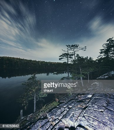 Lake Below : Stock Photo