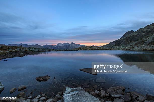 Lake Bergsee Switzerland