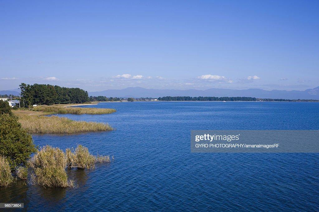 Lake Biwa, Takashima, Shiga Prefecture, Japan