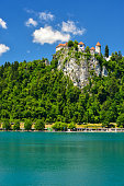 Lake Bled in summer, Slovenia