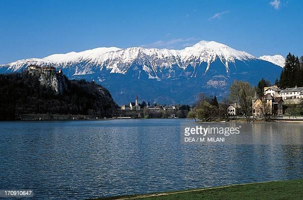 Lake Bled Triglav National Park Julian Alps Slovenia