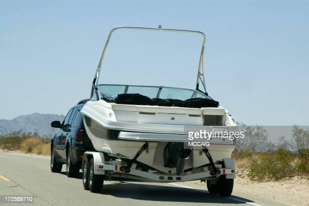 湖でのボート