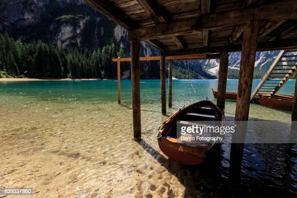 Lake braise, Dolomite, Italy.