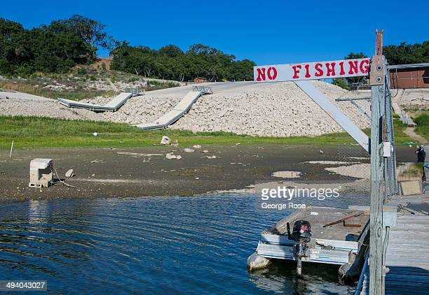 Lake Cachuma the primary source of drinking water in Santa Barbara Montecito and other cities along California's Central Coast has dropped 50 feet...