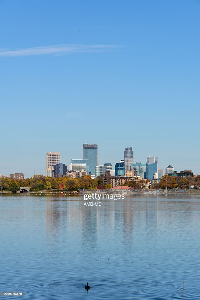 Lake Calhoun in Minneapolis : Stock Photo
