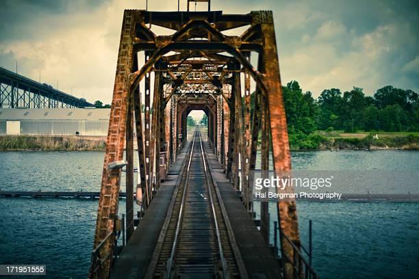 Lake Charles railroad bridge