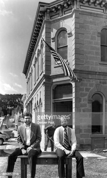 Lake City Colorado John Parker bd chmn Bruce Birr is pres of First Natl Bank Credit The Denver Post