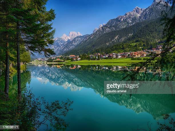 Lake.  Color Image