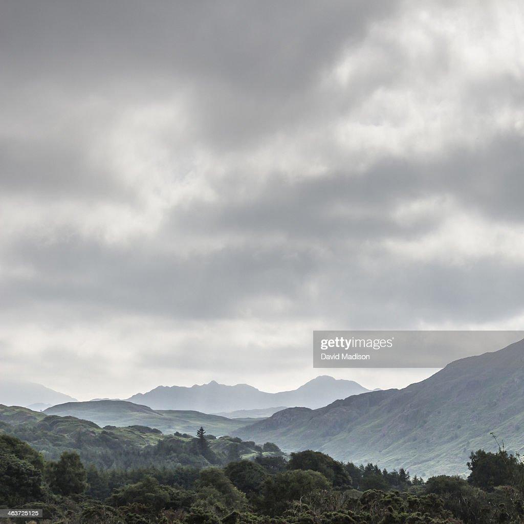 Lake District of Cumbria, England.