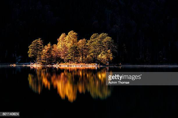 Lake Eibsee Bavaria
