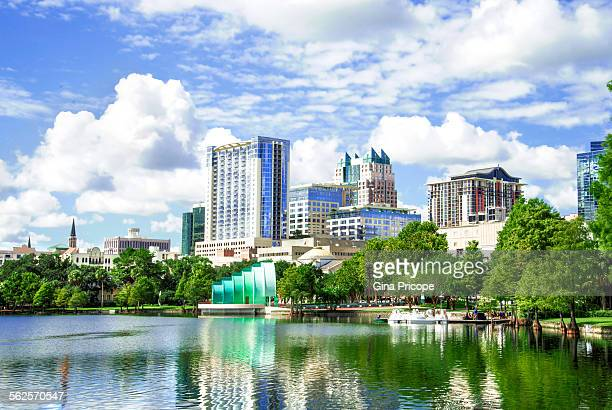 Lake Eola view in Orlando Florida