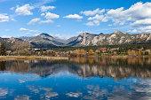 """""""Lake Estes, Estes Park, Colorado Near The Entrance To Rocky Mountain National Park"""""""