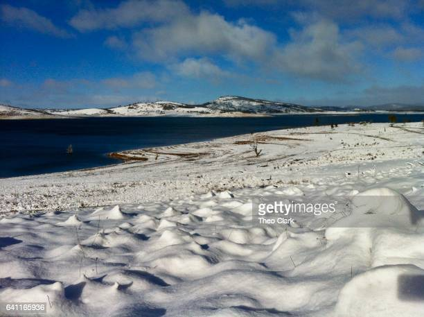 Lake Eucumbene after heavy snow