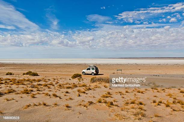 Lake Eyre view Halligan Bay