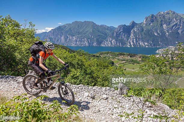 Lago di Garda splendida discesa