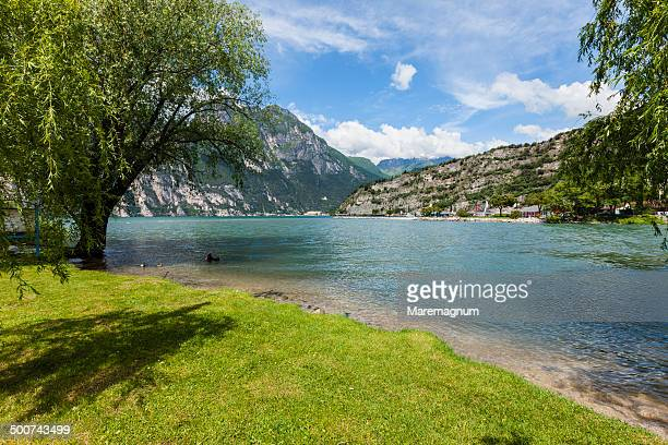 Lake Garda, view of the lake in Torbole