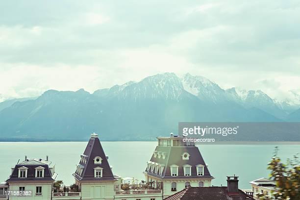 Genfer See, Lausanne, Schweiz