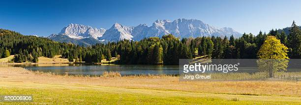 Lake Geroldsee and Karwendel range