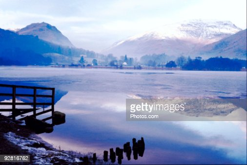 Lake Grasmere, Lake District, England : Stock Photo
