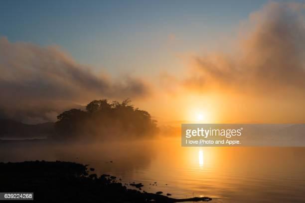 Lake Hibara Sunrise