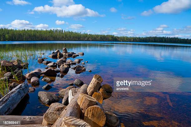 Lake in Finland