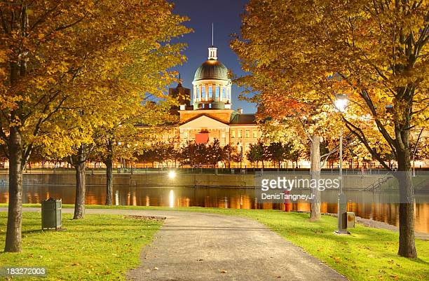 Lake in Montreal im Herbst