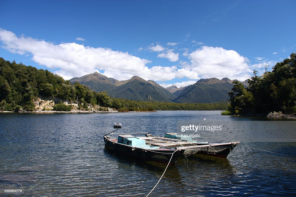 Lake in New Zealand : Stock Photo