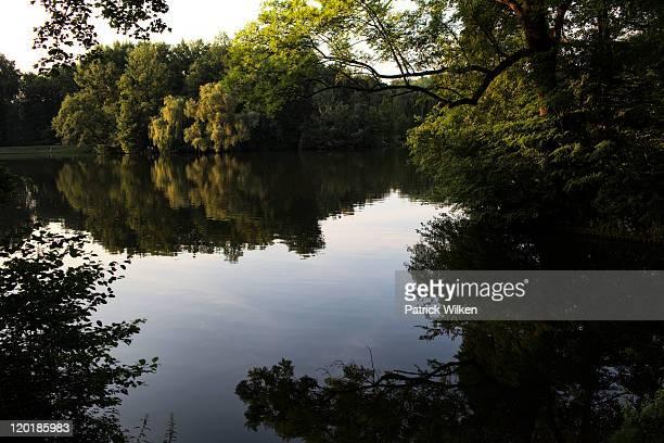 Lake in treptower park