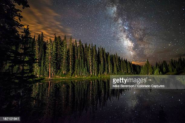 Lake Irene's Milky Way Mirror