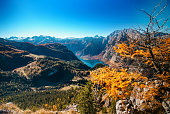 Berchtesgaden National Park in autumn