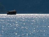 Famous and beautiful lake Koenigssee, Berchtesgadener Land, Bavaria in autumn