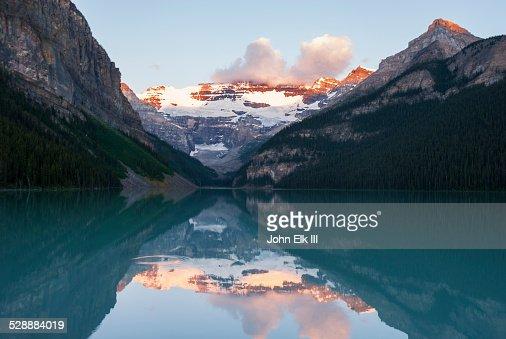 Lake Louise at sunrise