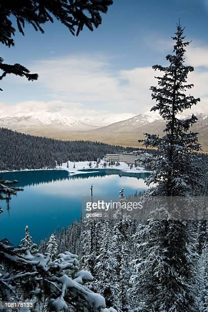 Lake Louise Winter Morning