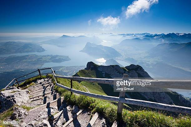 Lake Lucerne from Mount Pilatus
