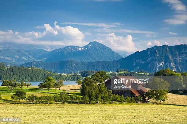 Lake Lucerne scenery
