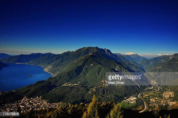 Lake Maggiore & Alps