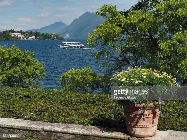 Lake Maggiore In A Sunny April Afternoon