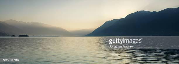 Lake Maggiore in Switzerland