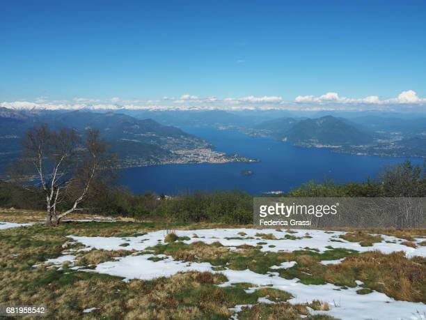 Lake Maggiore seen from Mount Mottarone