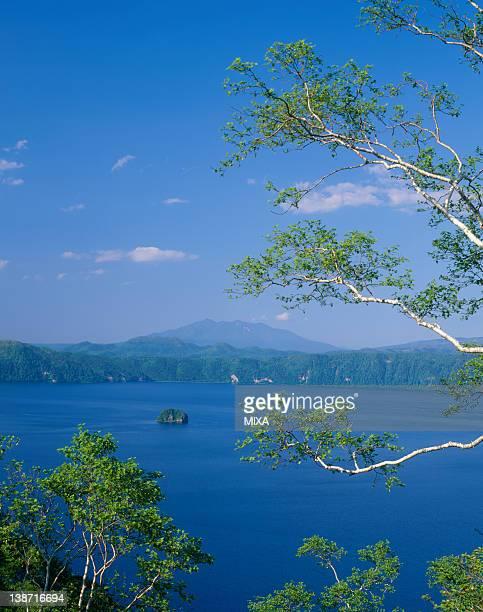 Lake Mashu and Mount Syaridake, Teshikaga, Hokkaido, Japan