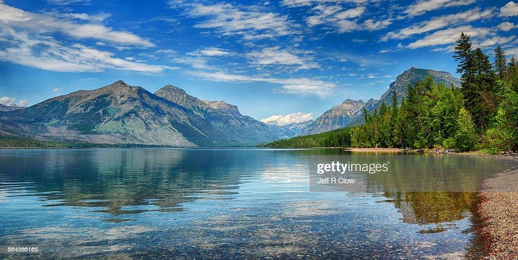 Lake McDonald Summer