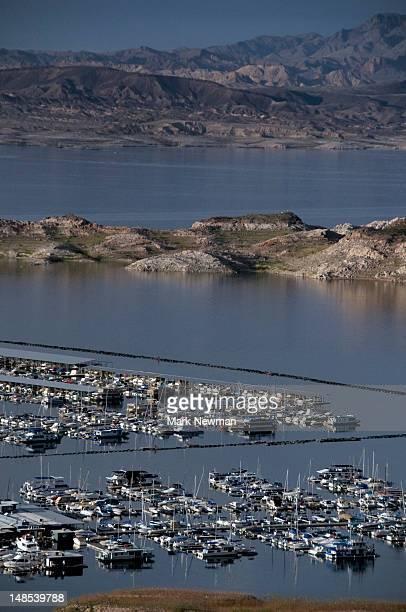 Lake Mead marina.