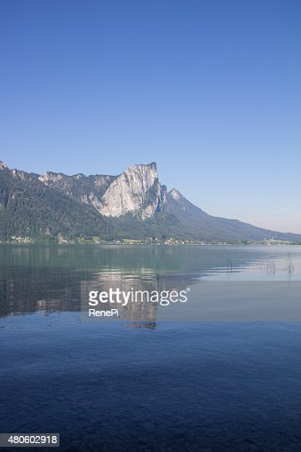 Lake Mondsee Dragonwall : Stock Photo