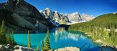 Lake Moraine panorama, Banff national park