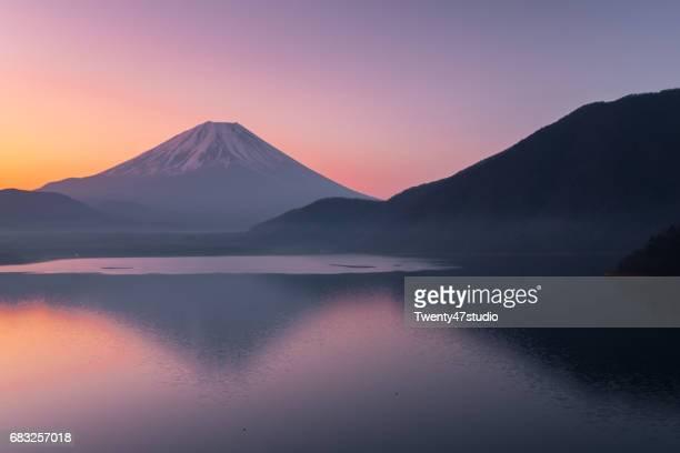 Lake Motosu in morning