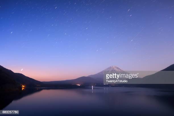 Lake Motosu with Mt.Fuji